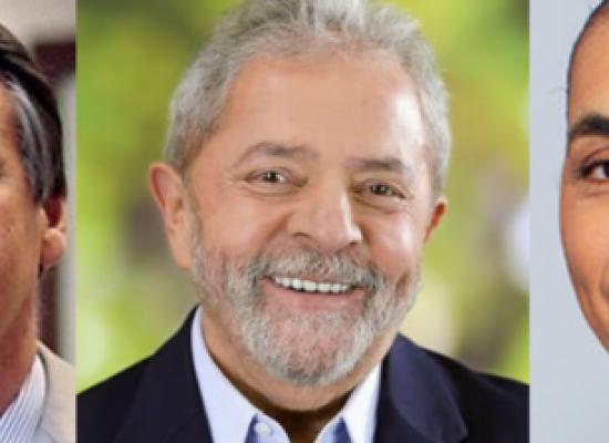 Pesquisa revela que evangélicos preferem Bolsonaro e Marina enquanto católicos escolhem Lula