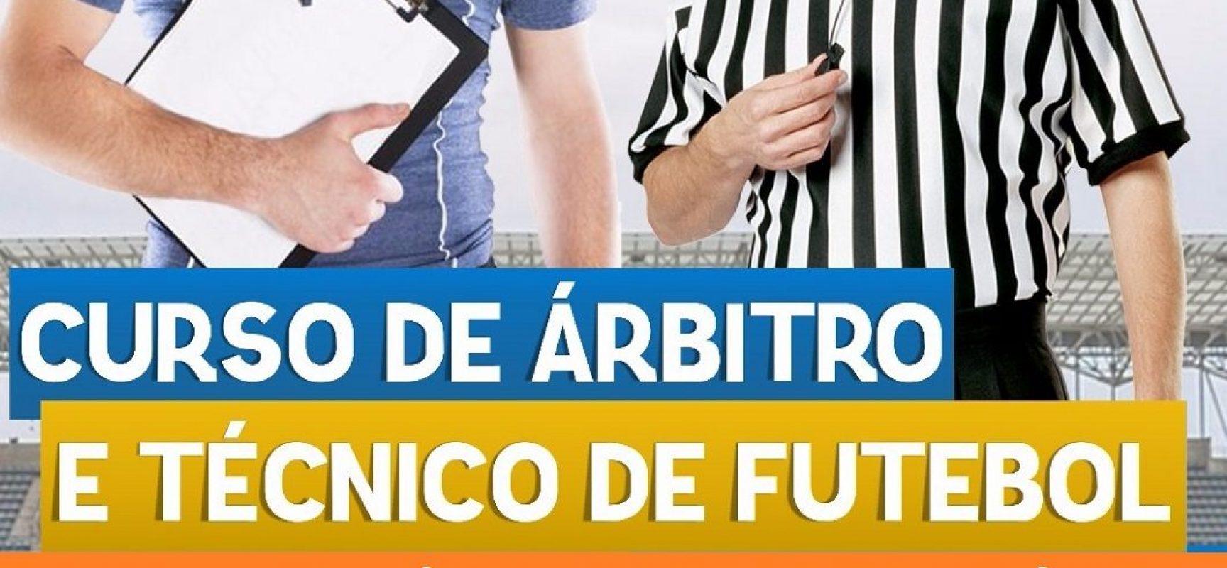 Sudesb promoverá curso de Árbitro e Técnico de Futebol em Ilhéus