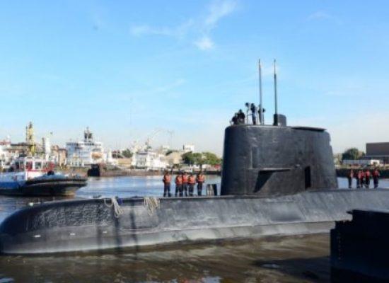 Marinha Argentina anuncia fim das buscas a sobreviventes do submarino militar desaparecido