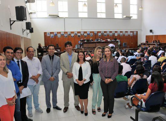 Júri simulado reuniu estudantes  de Direito no Fórum de Ilhéus