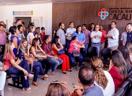 Vereadores de Ilhéus aprovam o Hospital Regional Costa do Cacau