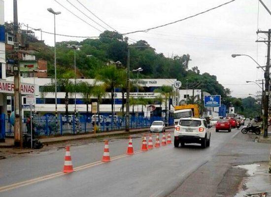 Ilhéus inicia processo de orientação no  trânsito das avenidas Itabuna e Ubaitaba