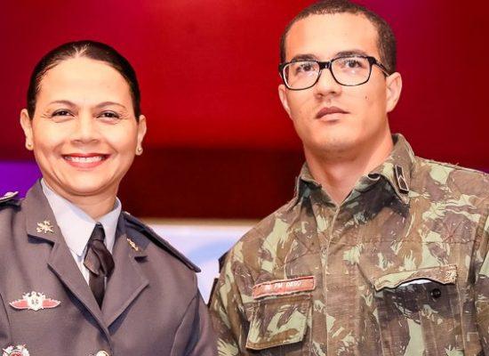 Policiais militares homenageados por atuação no combate à poluição sonora em Ilhéus