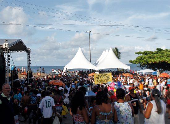 Festa para Iemanjá acontece dia  2 de fevereiro no Malhado e Pontal