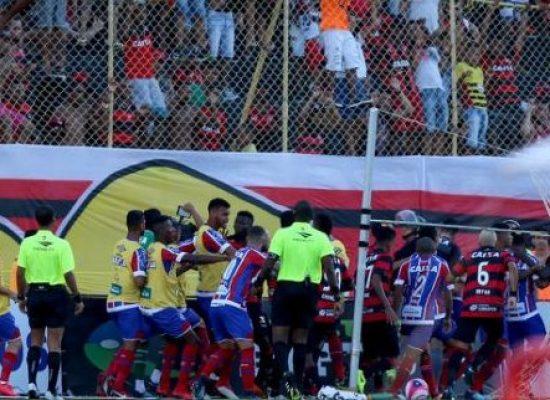 Agressão do zagueiro KANU: Jogador do Bahia vai procurar a Policia