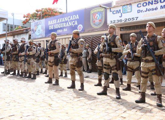 Base de Segurança inaugurada em Una é a primeira compartilhada da Bahia