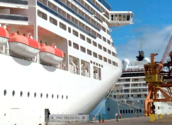 Ilhéus recebeu nesta quarta-feira mais dois navios transatlânticos