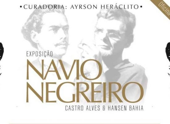 Ilhéus é o novo destino da exposição 'O navio negreiro', de Castro Alves e Hansen Bahia