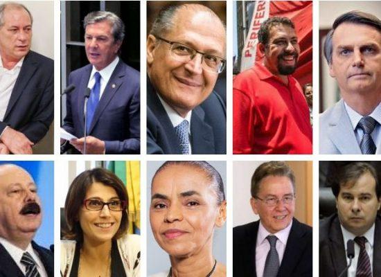 Bens declarados por presidenciáveis somam mais de R$ 830 milhões
