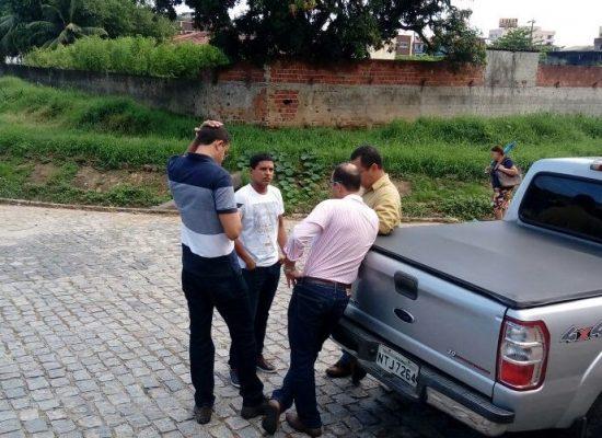 Fabrício Nascimento cobra melhorias para o bairro do Malhado