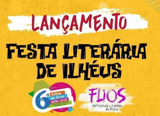 Festa Literária de Ilhéus será lançada dia 17 no Teatro Municipal