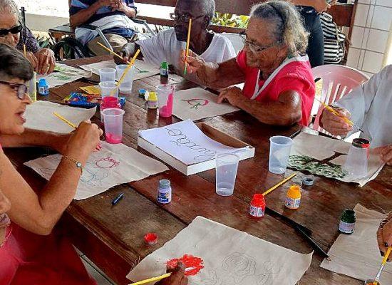 SDS realiza projeto para idosos no Abrigo São Vicente, em Ilhéus