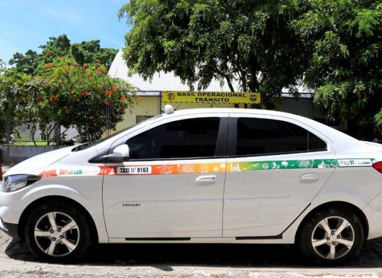 Táxis de Ilhéus ganham nova identidade visual na realização de vistoria