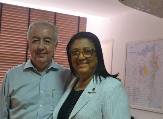 Ângela Sousa agradece ao governador Rui Costa por obras em Ibicuí