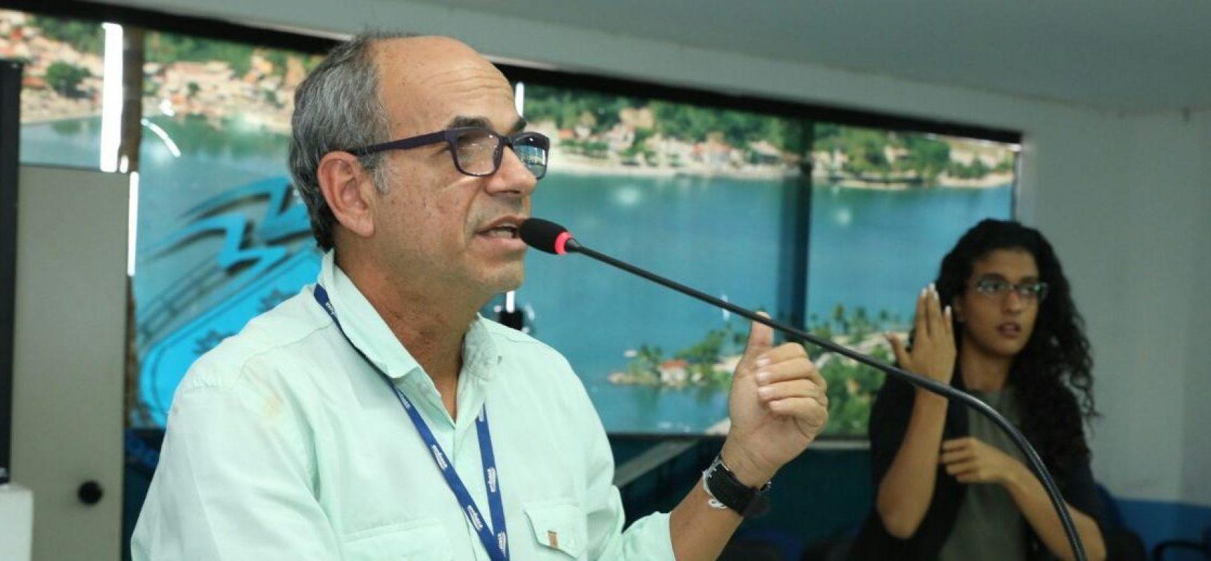 Audiência na Câmara de Ilhéus debateu o convênio entre Embasa e município.