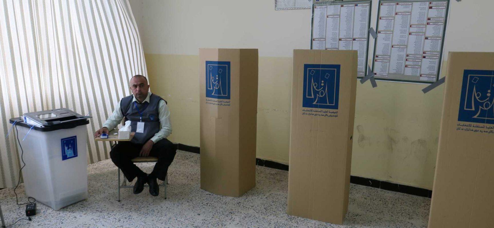 Eleição no Iraque é marcada por irregularidades