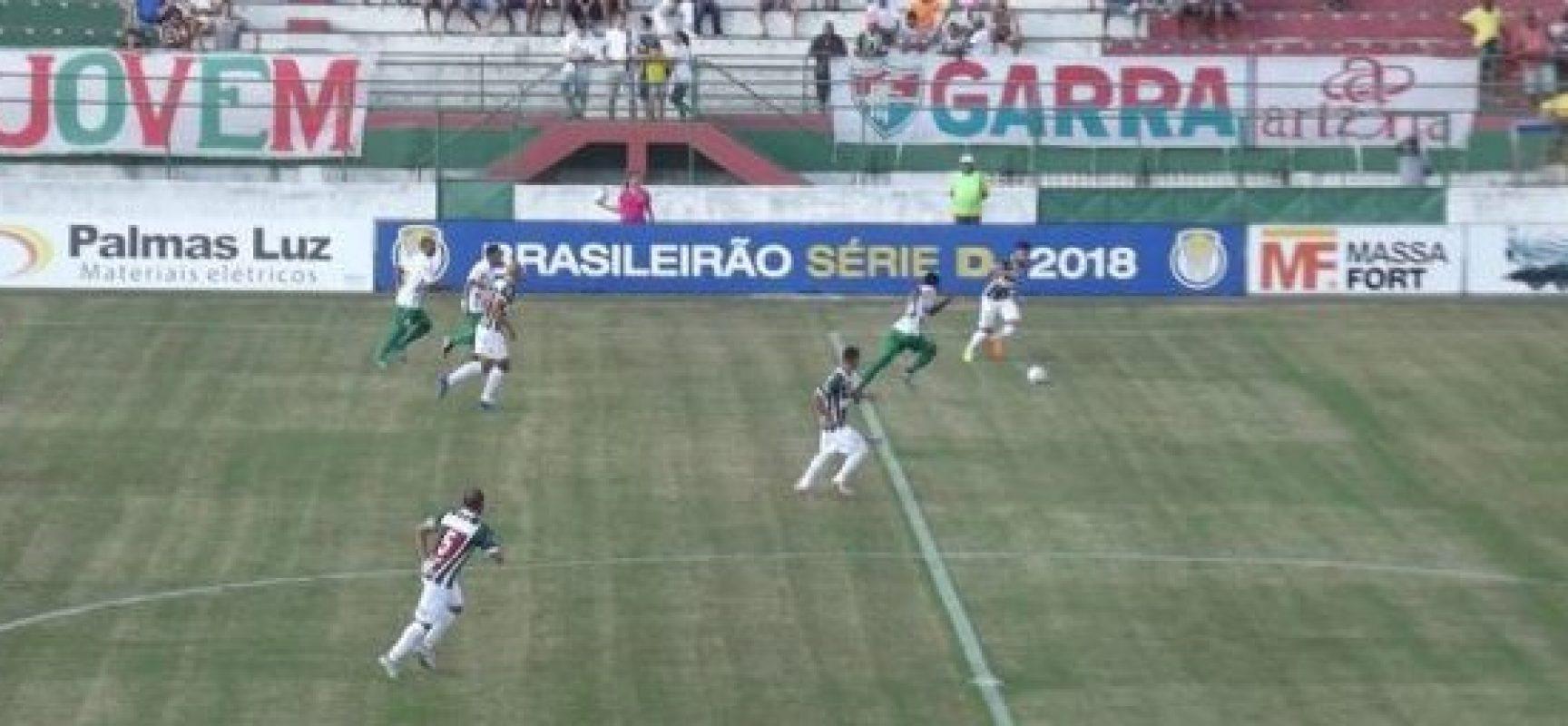 Flu de Feira goleia na Série D e é destaque entre os baianos no Brasileirão