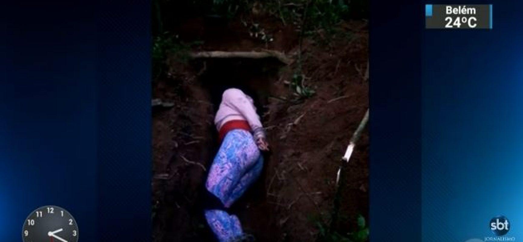Vídeo gravado por criminosos mostra jovem de 18 anos sendo executada