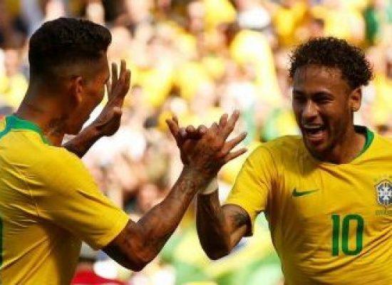 Seleção Brasileira bate a Croácia em Liverpool