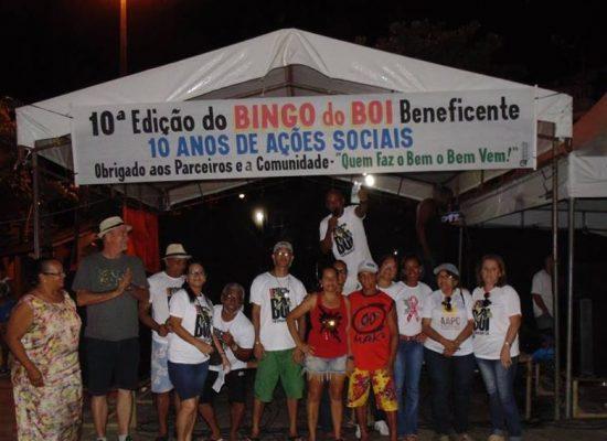 10ª EDIÇÃO DO BINGO DO BOI FOI SUCESSO TOTAL, TUDO PELO SOCIAL!