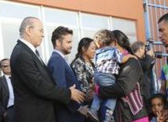 Interiorização de imigrantes venezuelanos será permanente, diz Padilha