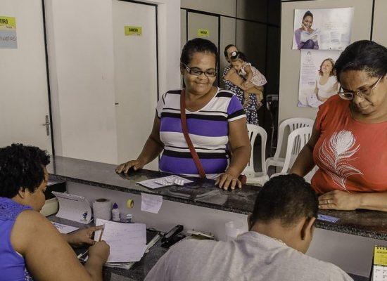 Moradoras elogiam reforma e serviços da Unidade de Saúde do Alto Basílio, em Ilhéus