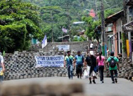 OEA se reúne para tratar da violência na Nicarágua