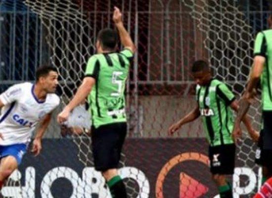 Bahia bate o América-MG, encerra sequência de empates e se desgruda do Z4