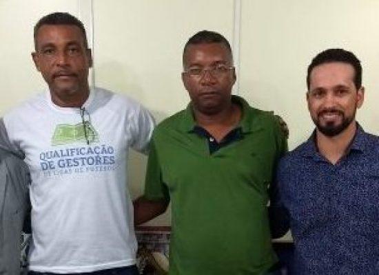 Diretorias da FBF e Liga de Camaçari discutem projetos para o futebol da cidade