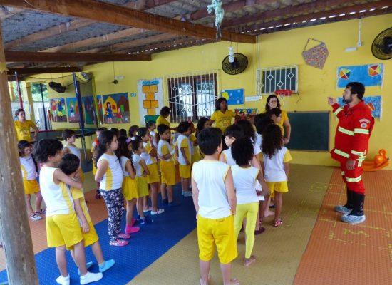 Estudantes da Casa Amarela São novos Brigadistas Mirins