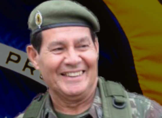 Mourão ficará na Presidência da República por mais quatro dias