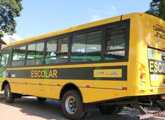 Município estima recuperar veículos escolares até o final de dezembro