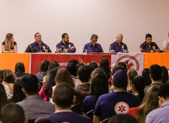 Simpósio SAMU Regional Ilhéus-Valença acontece no Centro de Convenções
