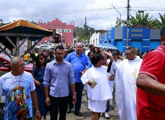 Cacá Colchões participa de homenagem à Padroeira de Inema