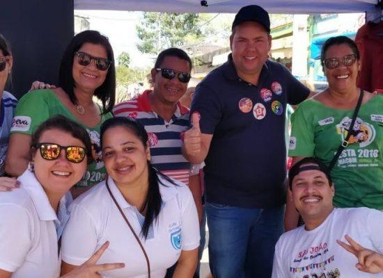 Cacá recebe apoio de lideranças de Uruçuca