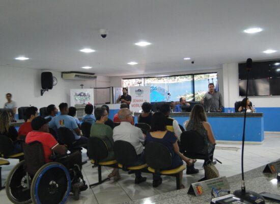 Cidade acessível e Plano Municipal de Mobilidade foram debatidos   no primeiro dia da II Semana de Mobilidade de Ilhéus