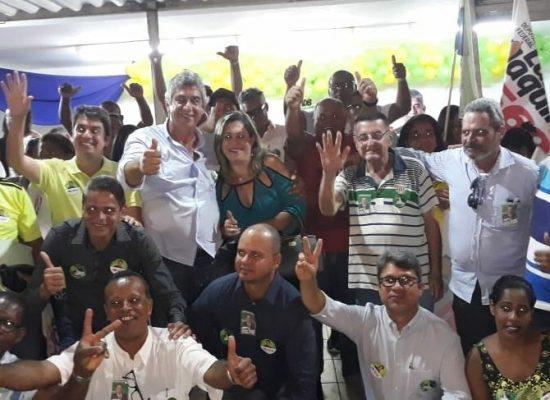 Com grande adesão e participação popular, comitê de Luiz Uaquim é inaugurado