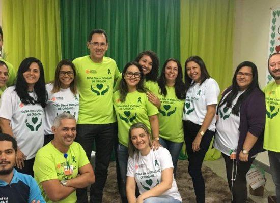 Hospital Regional Costa do Cacau realiza ação de conscientização sobre a doação de órgãos