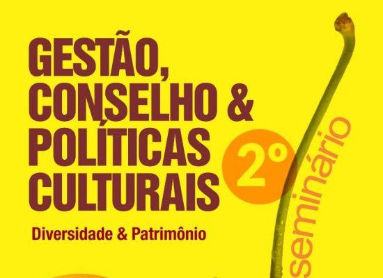 Ilhéus realiza seminário gratuito sobre políticas culturais, no final deste mês