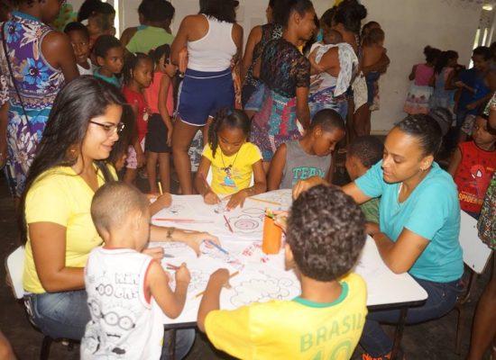 Programa Primeira Infância fortalece vínculos de crianças assistidas pela SDS