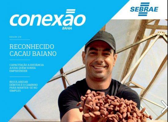 Publicação destaca conquista da Indicação Geográfica pela produção de cacau no Sul da Bahia