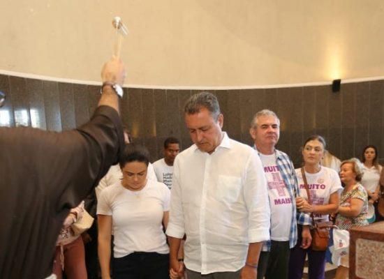 Em Salvador, Rui recebe bênçãos no Santuário de Irmã Dulce e pede paz