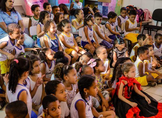 Escola Municipal Perpétua Marques comemora a Semana da Criança