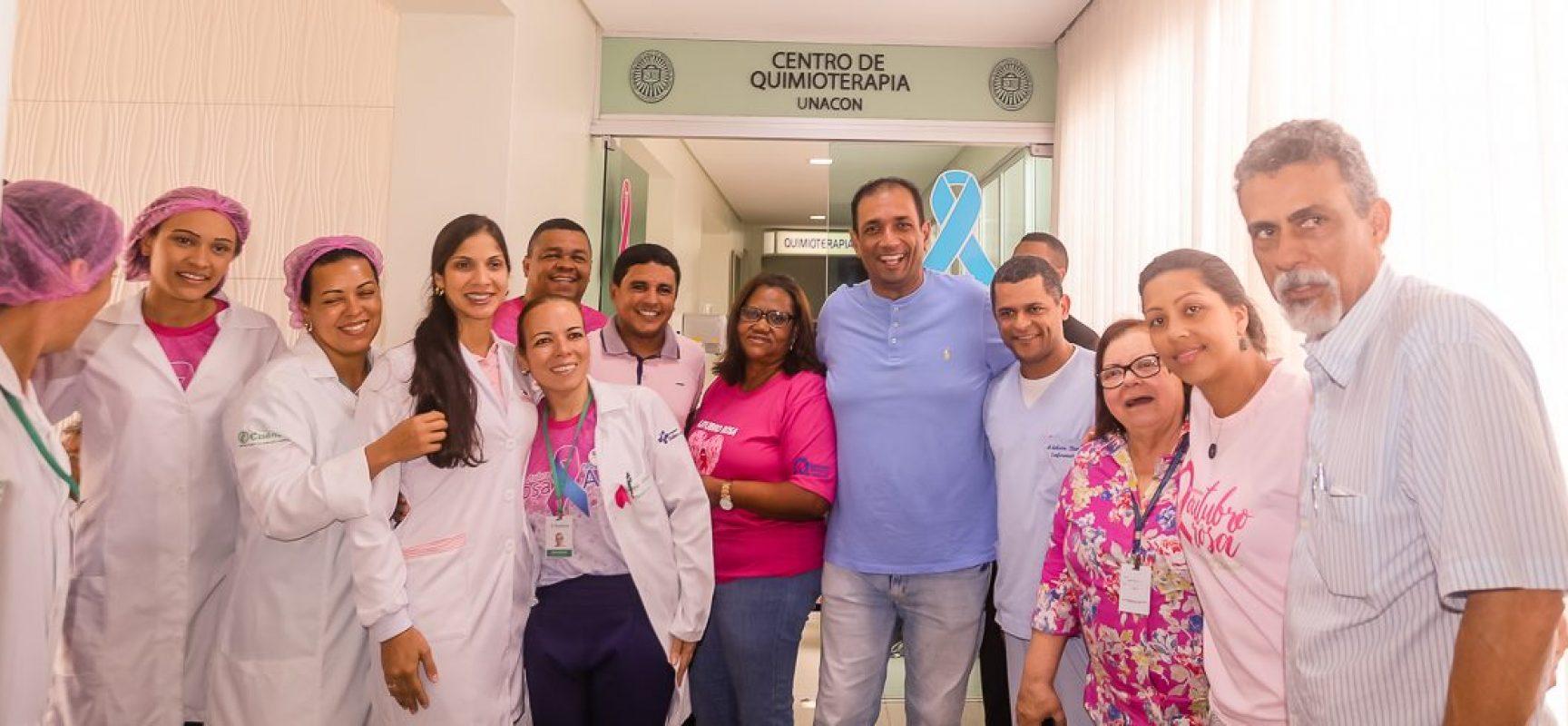 Mutirão do Outubro Rosa é sucesso de público no Hospital São José