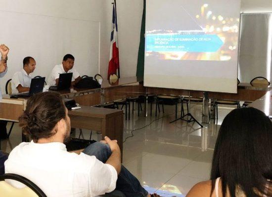 Prefeitura elabora novos projetos de iluminação para Ilhéus