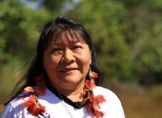 """""""Sou resultado do movimento de luta"""", diz 1ª indígena eleita deputada"""