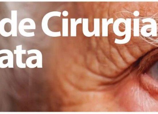 Alterado encerramento do Mutirão de Cirurgia de Catarata para esta quinta (22)