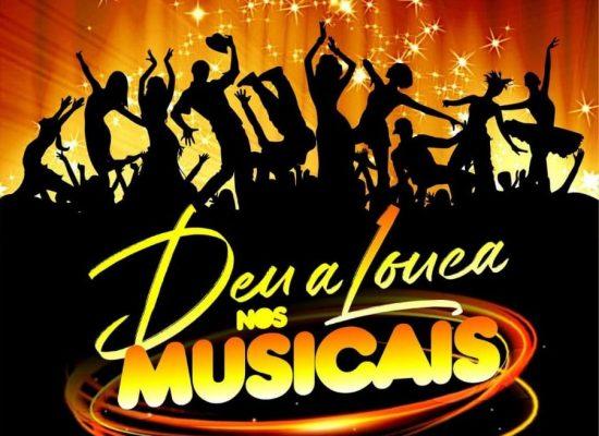 """Espetáculo """"Deu a louca nos musicais"""" em cartaz no Teatro Municipal de Ilhéus"""