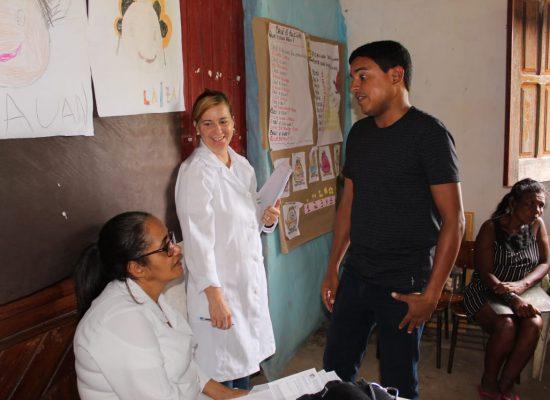 Fabrício Nascimento participa de mutirão da Saúde em Tibina