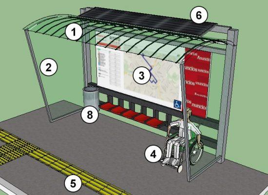 Prefeitura de Ilhéus vai instalar novos abrigos para passageiros de ônibus
